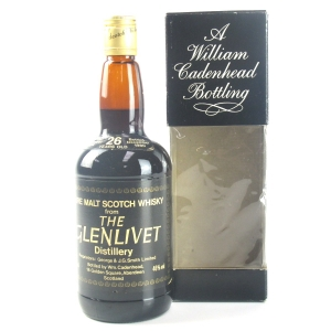 Glenlivet 1954 Cadenhead's 26 Year Old
