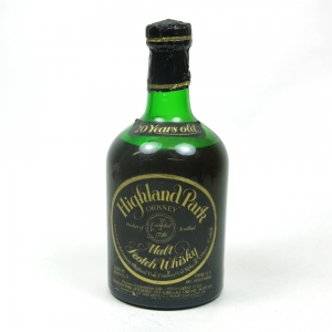 Highland Park 20 Year Old 1970s