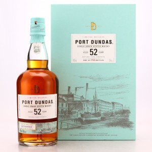 Port Dundas 52 Year Old Cask Strength 2017 Release