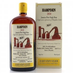 Hampden 2010 Habitation Velier 6 Year Old Jamaican Rum / HLCF