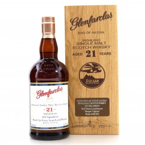Glenfarclas 21 Year Old / 202 Squadron Royal Air Force Search & Rescue Bottling