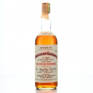 Macallan 1952 Gordon and MacPhail 25 Year Old / Co. Pinerolo Import