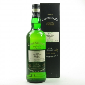 Dallas Dhu 1977 Cadenhead's 19 Year Old