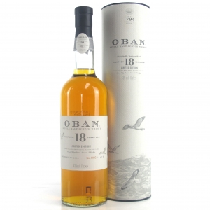 Oban 18 Year Old Limited Edition / Bottle #0002