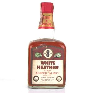 White Heather 8 Year Old 1960s / Rinaldi Import