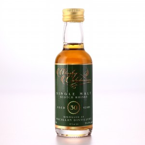 Macallan 30 Year Old Whisky Caledonian Miniature