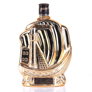 Gloria Ocean Gold Ship Bottle / Karuizawa