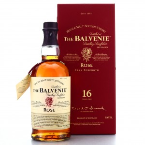 Balvenie Rose 16 Year Old / 1st Edition 53.4%