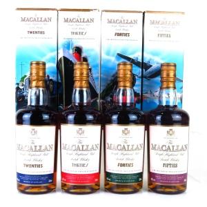 Macallan Decades Collection 4 x 50cl