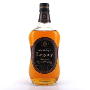 Mackinlay's Legacy 12 Year Old 1970s