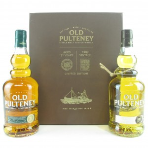 Old Pulteney Twin Pack / 21 Year Old & 1989 Vintage