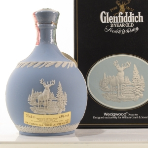 Glenfiddich 21 Year Old Wedgwood Decanter
