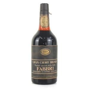 Fabbri Gran Cherry Brandy 1950s