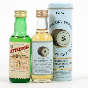 Port Ellen 1975 & Littlemill 5 Year Old 2 x 5cl