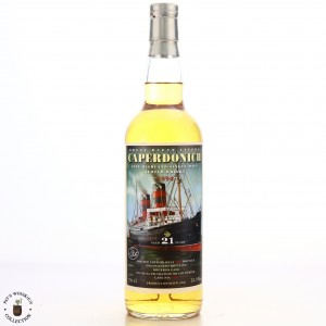 Caperdonich 1994 Jack Wiebers 21 Year Old Great Ocean Liners / Whisky Ship Zurich