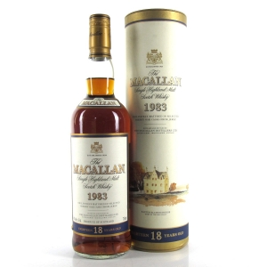 Macallan 18 Year Old 1983 / US Import