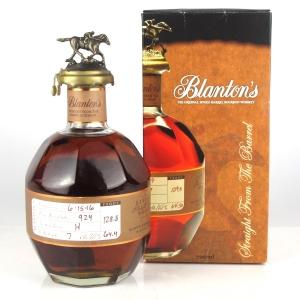 Blanton's Single Barrel Bourbon Dumped 2016 / Polish Import