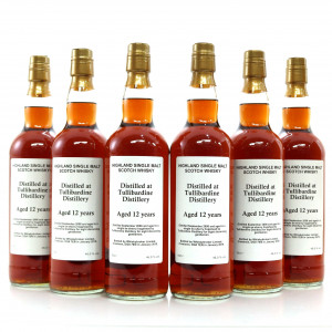 Tullibardine 2006 Private Cask 12 Year Old Sherry Hogshead 6 x 70cl / Case