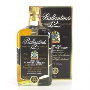 Ballantine's 12 Year Old 1980s / Spirit Import