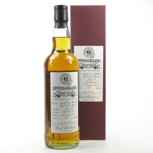 Springbank 1997 8 Year Old Sherry Cask