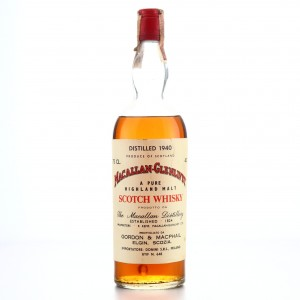 Macallan 1940 Gordon and MacPhail / Donini Import
