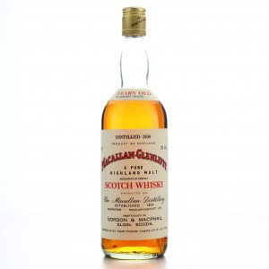 Macallan 1950 Gordon and MacPhail 25 Year Old / Co. Pinerolo Import