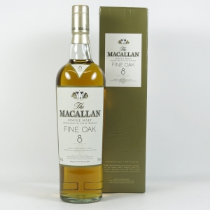 Macallan 8 Year Old Fine Oak Front