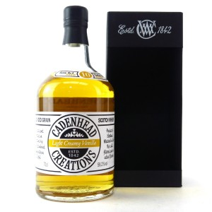 Cadenhead Creations 10 Year Old Light Creamy Vanilla Batch #4