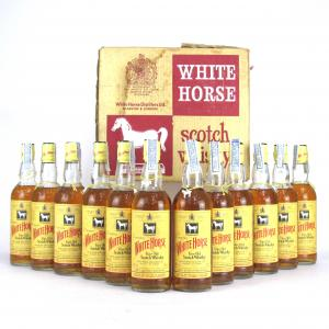 White Horse 12 x 75cl 1980s