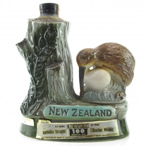 Jim Beam 100 Months Old New Zealand Decanter 1970s