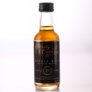 Macallan 25 Year Old Whisky Caledonian Miniature