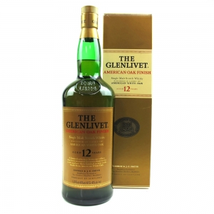 Glenlivet 12 Year Old American Oak Finish 1 Litre