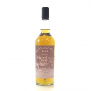 Mortlach 19 Year Old Managers Dram 2002