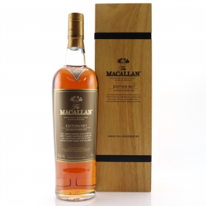 Macallan Edition No.1 / Wooden Box