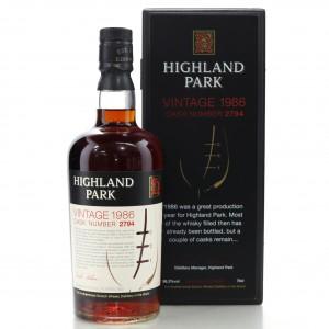 Highland Park 1986 Single Cask #2794