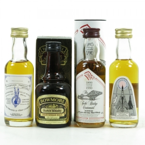 Miscellaneous Bowmore Selection 4 x 5cl