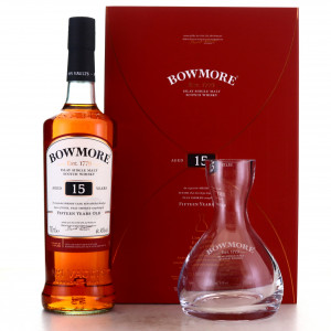 Bowmore 15 Year Old Limited Edition Decanter Gift Pack