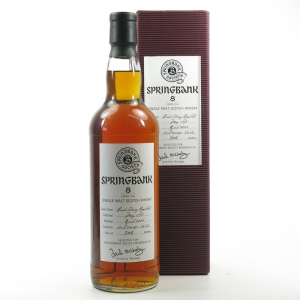 Springbank 1995 Sherry Hogshead 8 Year Old Front