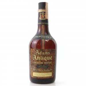 Adams Antique Canadian Whisky 1980s