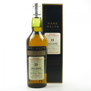 Hillside 1971 Rare Malt 25 Year Old