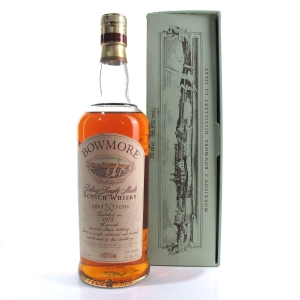 Bowmore 1973 Cask Strength 20 Year Old / German Exclusive