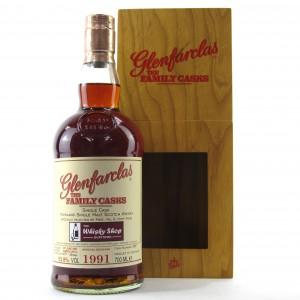 Glenfarclas 1991 Family Cask #5691 / Whisky Shop Dufftown