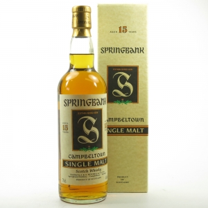 Springbank 15 Year Old Green Thistle 1990s