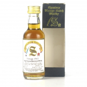 Glen Mhor 1965 Signatory Vintage 26 Year Old Miniature 5cl