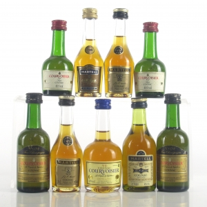 Martell and Courvoisier Miniature Selection x 9