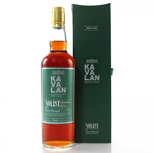 Kavalan Solist Cask Strength Port Cask / 59.4%
