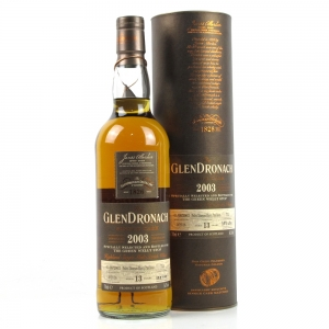 Glendronach 2003 Single Cask 13 Year Old / #713