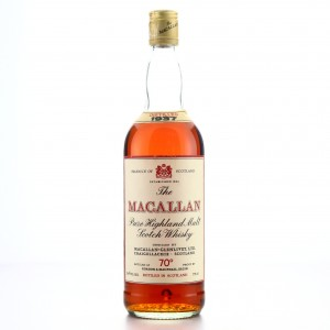 Macallan 1937 Gordon and MacPhail 70 Proof