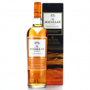 Macallan Amber Ernie Button Limited Edition
