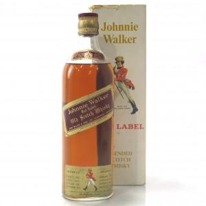 Johnnie Walker Red Label 1950s
